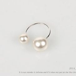 NANING9 - Faux Pearls Ring