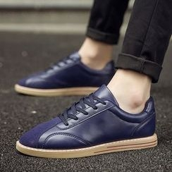 Araeo - Faux Leather Sneakers