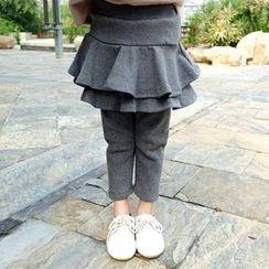 CUBS - Kids Inset Leggings Skirt