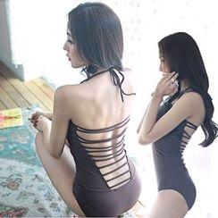 Roseate - Cross Back Swimsuit