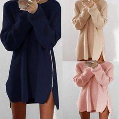 Aquello - Zip Side Long Sweater