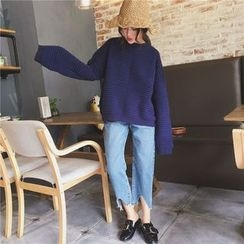 Anlay - Fringed Wide-Leg Jeans