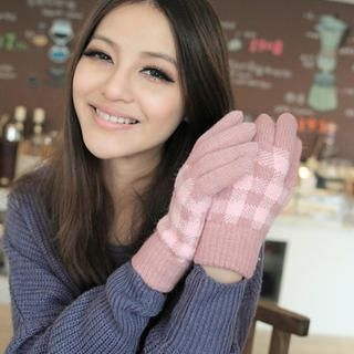 Cuteberry - Plaid Gloves