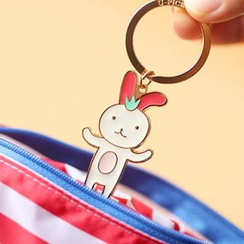 Cute Essentials - Rabbit Keyring