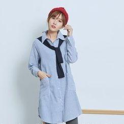 BAIMOMO - Striped Shirt