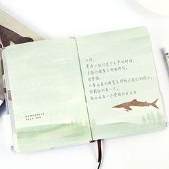 雲木良品 - 小印花筆記本