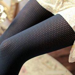 della molla - Anti Snag Velvet Tights