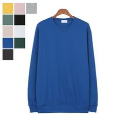 DANGOON - Crew-Neck Colored Sweatshirt
