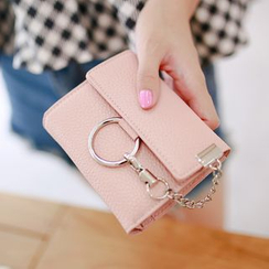 Rinka Doll - Chain Detail Faux-Leather Wallet