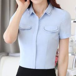 Eferu - Short-Sleeve Blouse