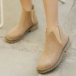 Gizmal Boots - 纯色短靴