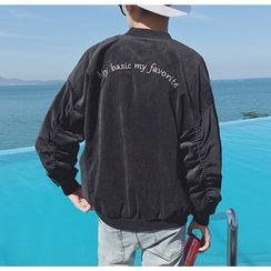 Bestrooy - Lettering Corduroy Jacket