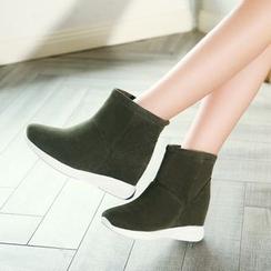 幸福鞋坊 - 扣踝帶及踝靴