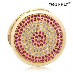 Yogi-Fly - Beauty Compact Mirror (MZ-102G)