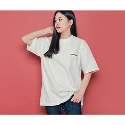 HOTPING - Lettering Cotton Top