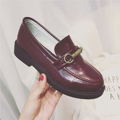 Laceuplux - Chunky Heel Loafers