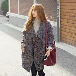 REDOPIN - Wool Blend Oversized Coat
