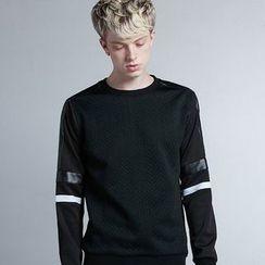 HEIZE - Panel Neoprene Sweatshirt