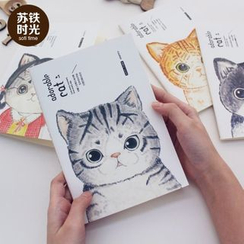 Hera's Place - Cat Print Notebook (M)