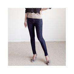 MASoeur - Stitched-Trim Skinny Jeans