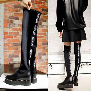 over the knee platform boots | Gommap Blog