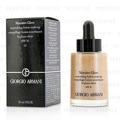 Giorgio Armani 喬治亞曼尼 - Maestro Glow Nourishing Fusion Makeup SPF 30 (#5.5)
