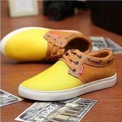 Easy Steps - 撞色船鞋