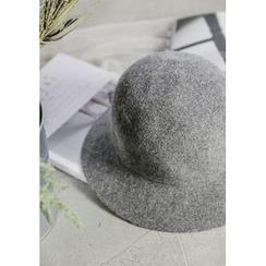GOROKE - Wool Blend Knit Bowler Hat