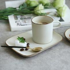 Kawa Simaya - Tableware (Set: Plate + Cup)