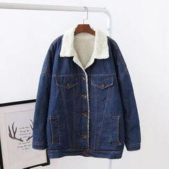 TOJI - Fleece-Lined Denim Jacket