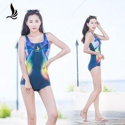 SANQI - Print Swimsuit