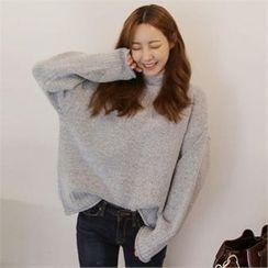 QNIGIRLS - Turtle-Neck Sweater