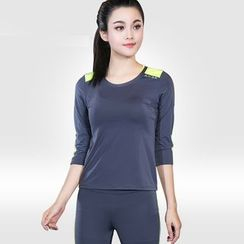 AIMIDA - Set: Sport Bra + Top + Pants