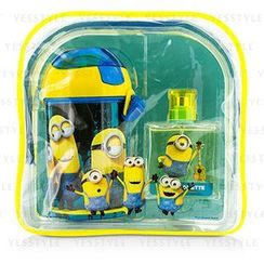 Air Val International - Minions Coffret: Eau De Toilette Spray 50ml/1.7oz + Water Bottle + Backpack