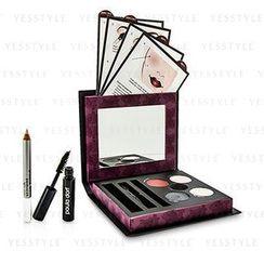 Paula Dorf - Smokey Eye Collection (3x Eye Shadow, 1x Eye Liner, 1x Lip and Cheek Stain, 1x Mascara, 1x Enhancer Pencil, 1x Applicator)