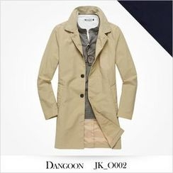 DANGOON - Single-Breasted Trench Coat