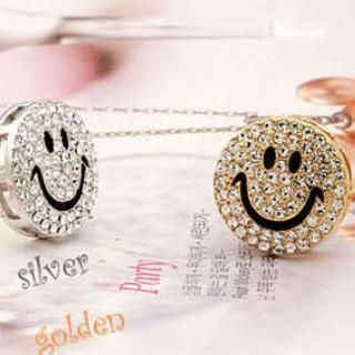 TAIPEI STAR - Rhinestone Smile Ring