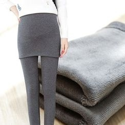 Soswift - Maternity Inset Skirt Leggings
