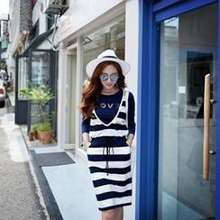Dabuwawa - Striped Tank Dress