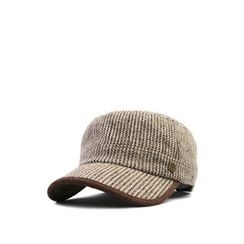 Ohkkage - Check-Pattern Military Cap