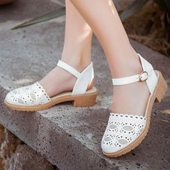 Sidewalk - Laser Cut Sandals