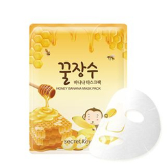 Secret Key - Honey Banana Mask Pack 1pc