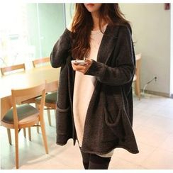 Ichiyarn - Long Hooded Cardigan