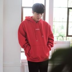 MEING - Lettering Hooded Pullover