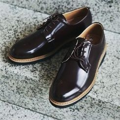 MITOSHOP - Faux-Leather Oxfords