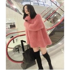 Cotton Candy - Furry Thick Sweater