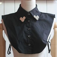 MIOW - Rhinestone Decorative Collar