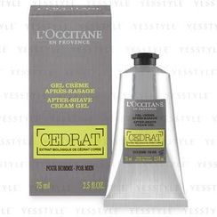 L'Occitane - Cedrat After-Shave Cream Gel