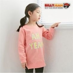 BILLY JEAN - Girls Lettering Long Pullover