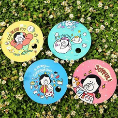 Full House - Gracebell - Printed Hand Fan